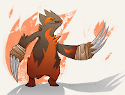 Over my summer break I sketched a fire sloth for fun. fire sloth