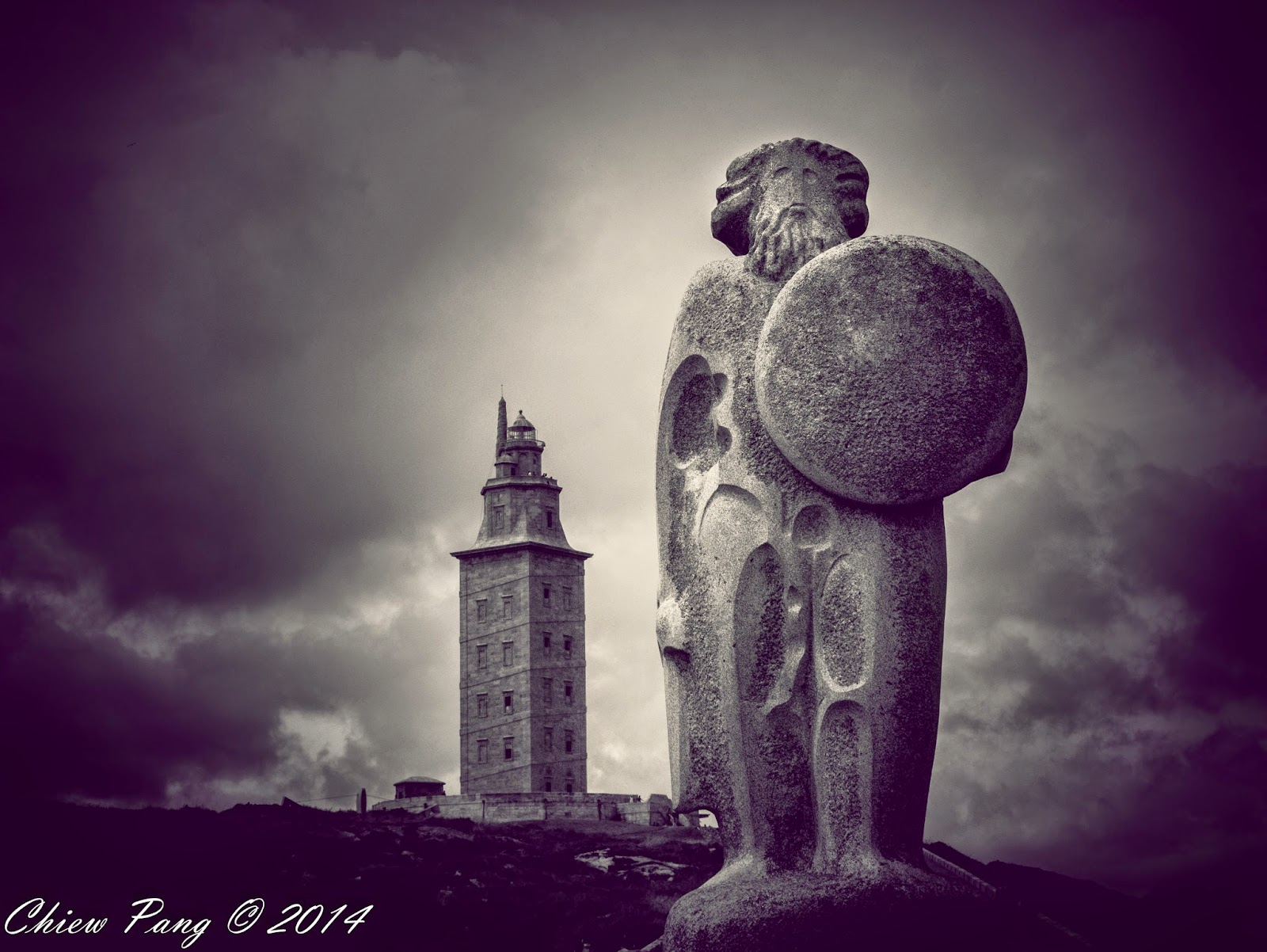 The Sculptural Park, Tower of Hercules, A Coruña, Galicia, Spain