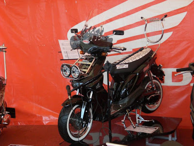 motor honda beat touring modif