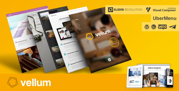 New Premium Responsive WordPress Template
