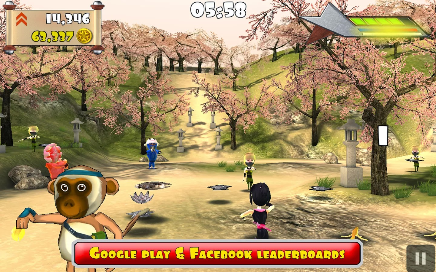 Ninja Chaos v1.2 Mod [Unlimited Coins]