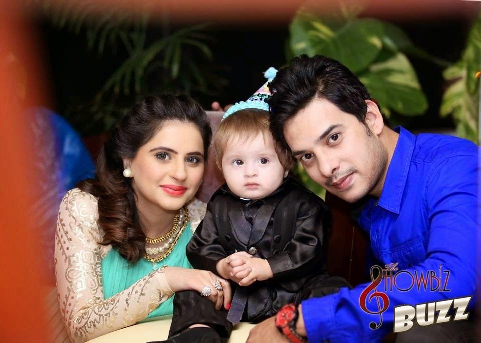 fatima effendi amp kanwar arsalan celebrating 1st birthday