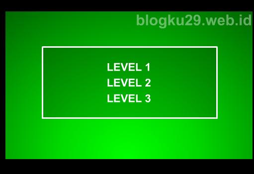 tampilan dari laman level