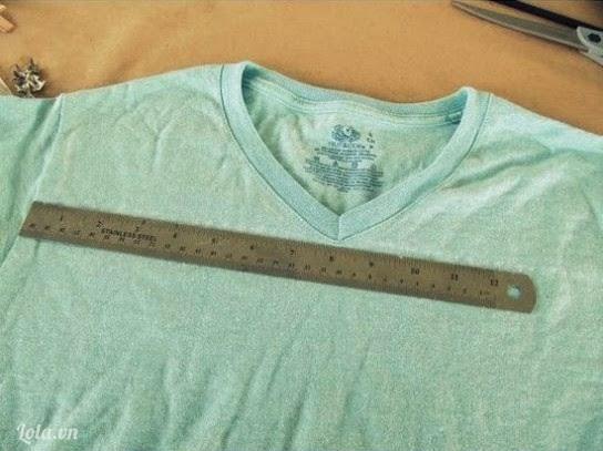 Простая идея по переделке футболки.