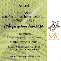 """Premiación 6to. CERTAMEN INTERNACIONAL DE SIGLEMA 575 """"DI LO QUE QUIERES DECIR"""" 2020"""