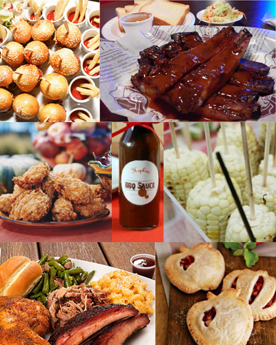 Lq designs summer menu ideas fo your wedding for Meal outdoors