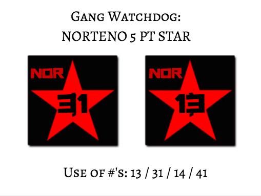 Gang Watchdog Gang Watch Dog Norteno Signs And Symbols Prevent