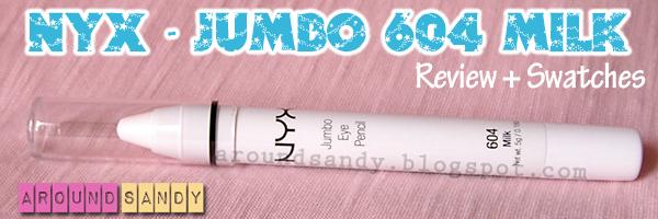 nyx milk jumbo eye pencil 604 review swaches cómo usar dónde comprar opinión