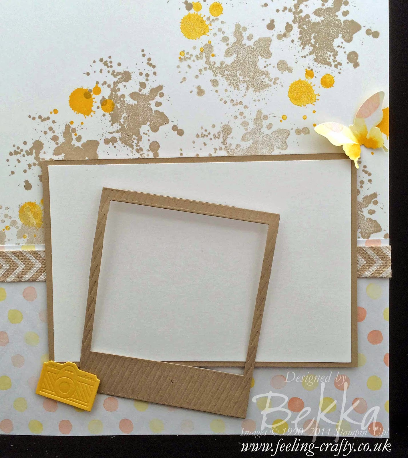 Scrapbook Start Point showing how to highlight one part of a photo - check out this blog every Saturday for Scrapbooking Ideas