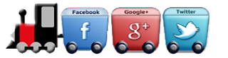 social-facebook-tweeter-google-train