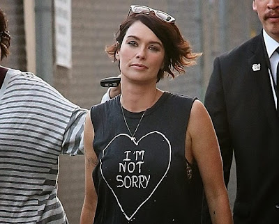 Cersei is a punk chick Lena Headey tats
