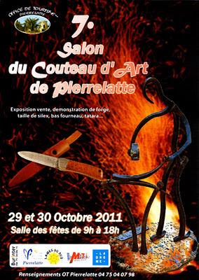 Salon du couteau d'art de Pierrelatte 2011