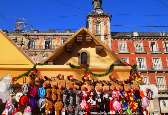 Christmas stall - Madrid 2011
