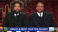 Cornell West and Travis Smiley