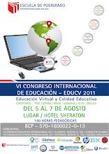 VI Congreso Internacional de Educación - EDUCV 2011