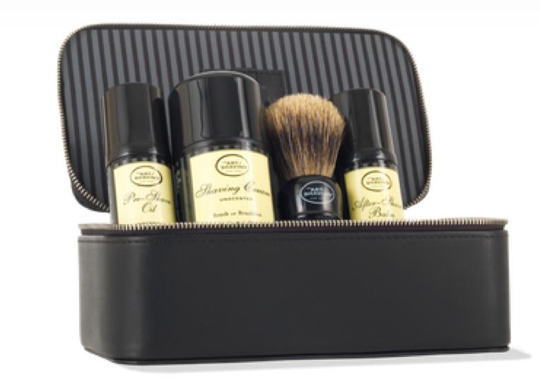 Luxury brand art of shaving has a great kit for shaving