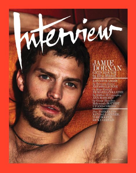 Jamie Dornan by Mert & Marcus for Interview Magazine