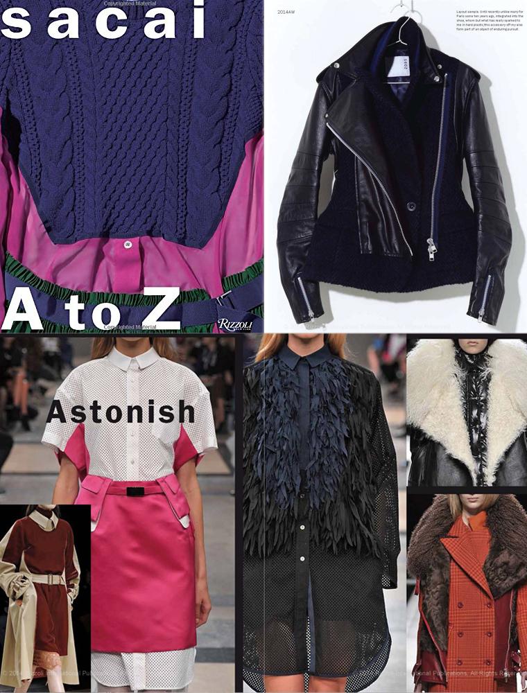 Sacai A to Z book best fashion books / fashion books new releases 2015 / via fashioned by love british fashion blog