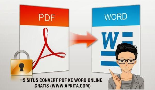 5 Situs Convert PDF ke Word Online Gratis