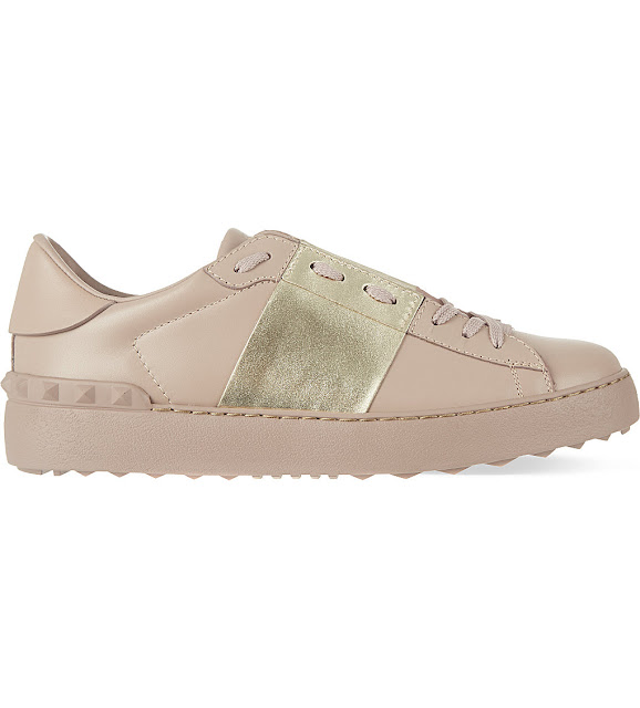 valentino trainers, valentino gold trainers, valentino beige gold trainers,