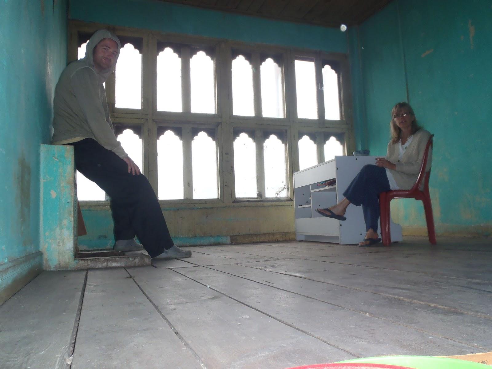 Heather Robertson In Bhutan Weekend In Tshimalakha