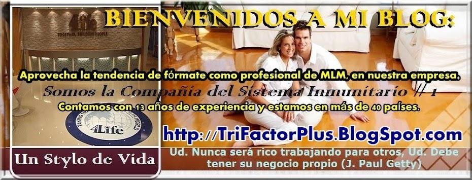TRI FACTOR 4LIFE Potencia tu SISTEMA INMUNITARIO con los Factores de Transferencia (Transfer Factor