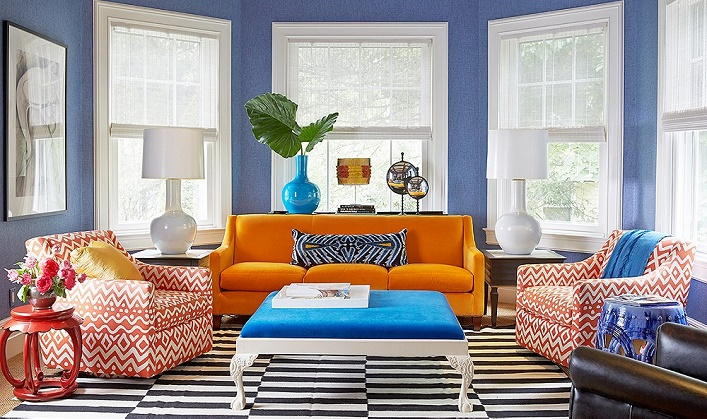 if you love bright colors and rich hues but not sure how to use them confidently check out this colorful home designed by patrick mele for inspiration bright colorful home
