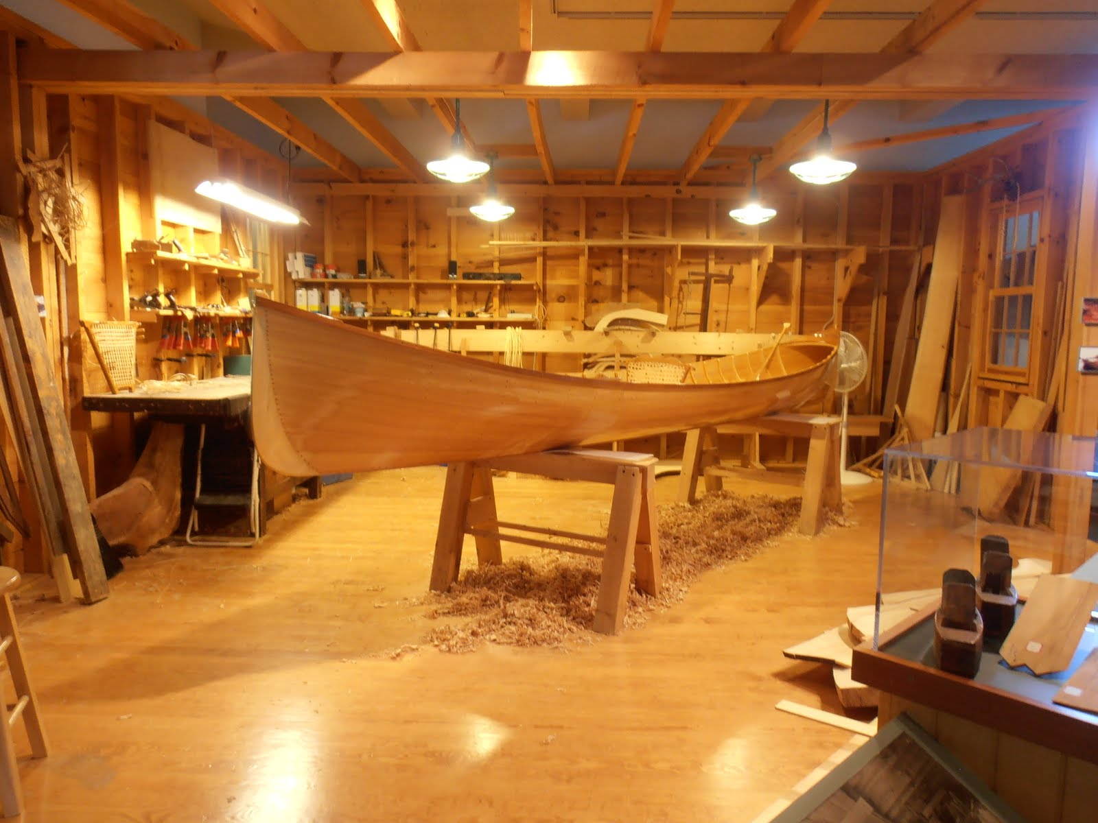Adirondack museum guide boat plans
