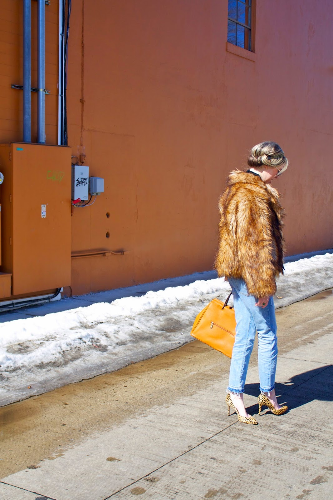 Fur coat, Project Soiree, Fashion Post, Outfit,
