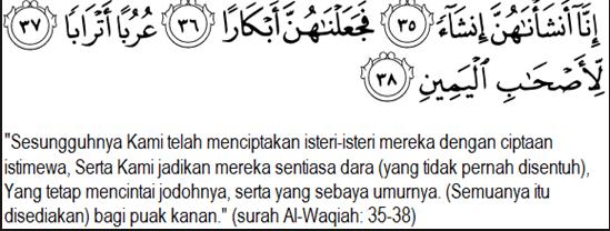 Al-Waqiah+ayat+35-38:
