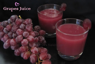 Red Grapes Juice