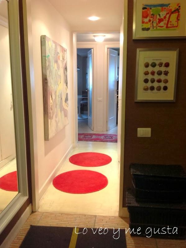 Lo veo y me gusta como decorar el pasillo con un cuadro - Como decorar un pasillo pequeno ...