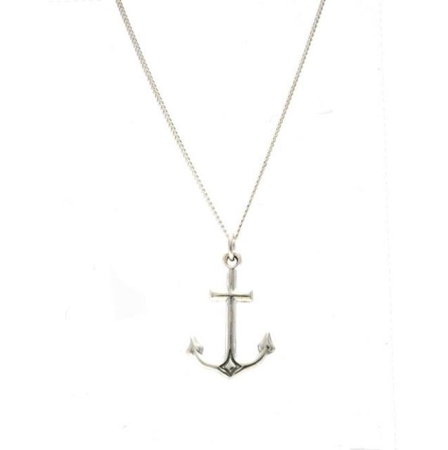 Silver Anchor Necklace5