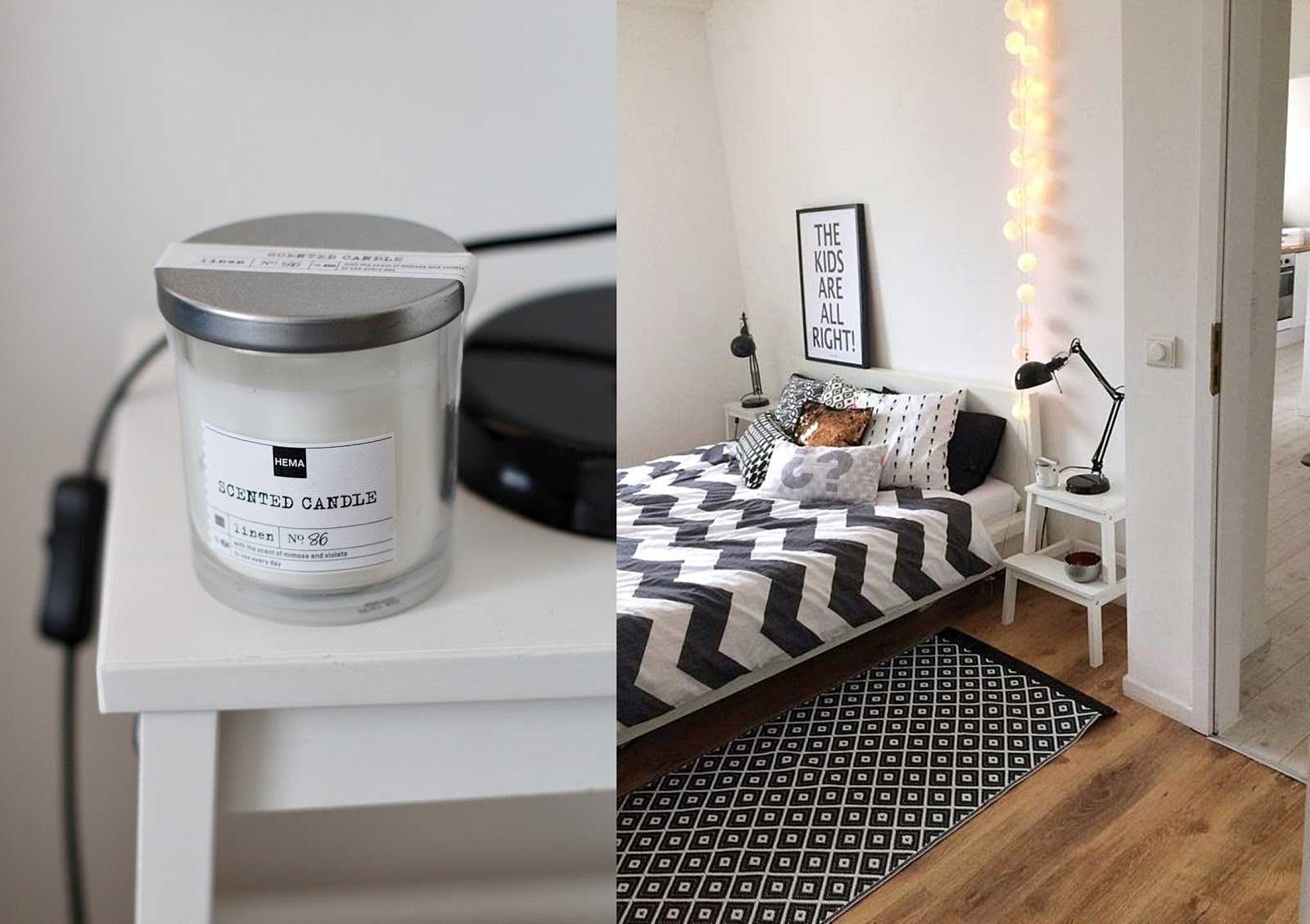 Schlafzimmer skandinavisch: mein cooler arbeitsplatz vs. so wird ...