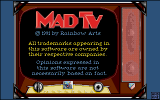 Mad TV dos title screen