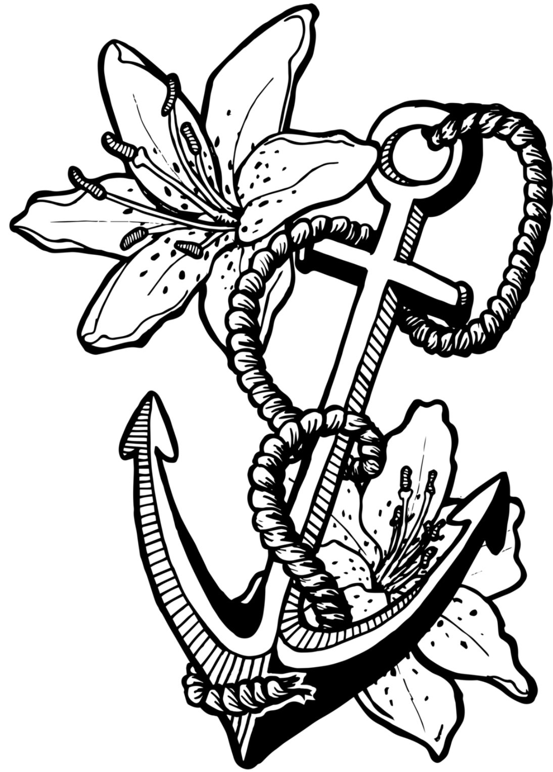 Anglican orthodox church worldwide communion guest sermon for Anchor coloring page