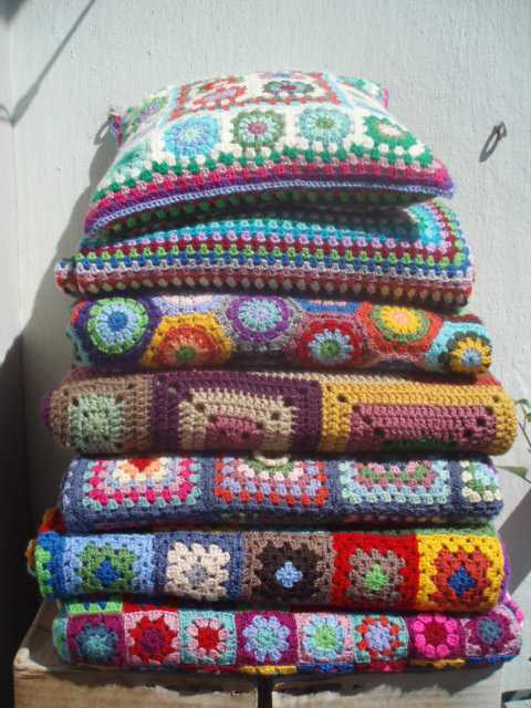 La ventana azul: 54.- Todas mis mantas a crochet ... - photo#1