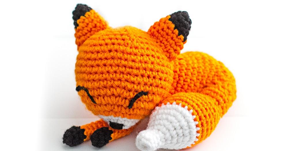 Amigurumi Lalaloopsy Doll Pattern : Sleepy Fox Amigurumi Pattern Adorably Kawaii