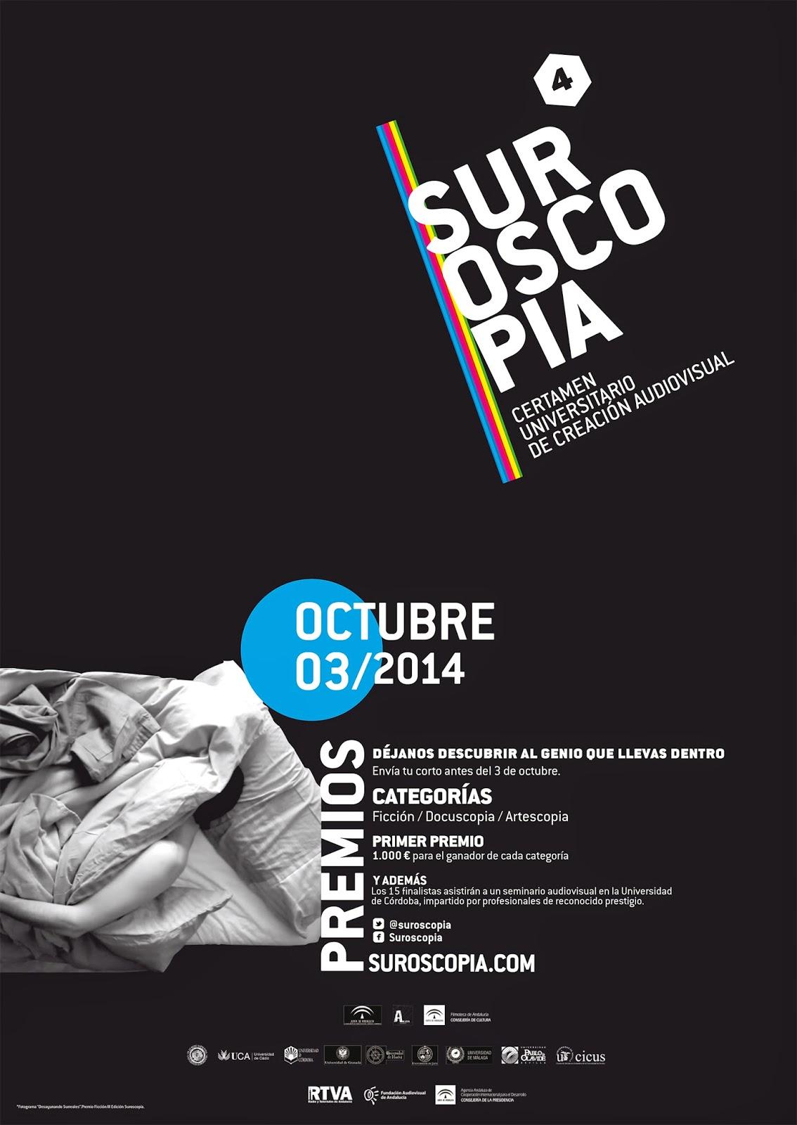 cartel SUROSCOPIA 4 edición
