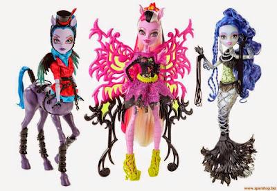 Centaura-Harpia, Mariposa-esqueleto, Sereia-fantasma... A rota Fuzors sempre funciona