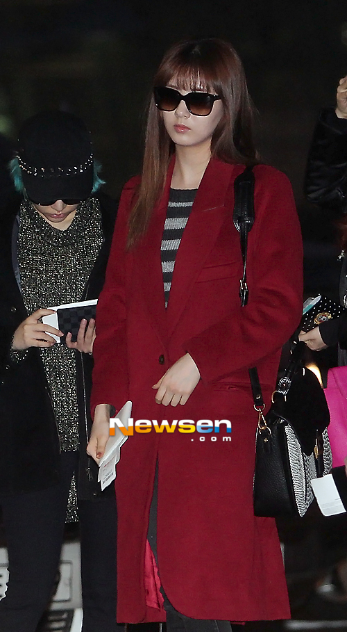 SNSD Incheon Airport