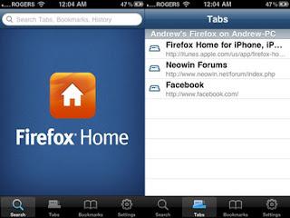 firefox home ios