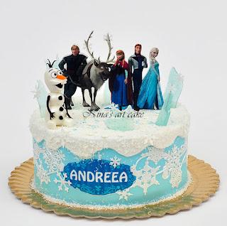 """Tort """"Frozen"""" pentru Andreea"""