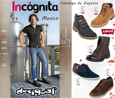 Catalogo Zapatos Hombre Desigual OI-2015