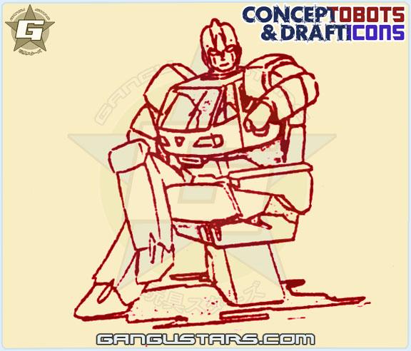 Ironhide Studio OX Transformers design sketch art スタジオOX トランスフォーマー タカラ