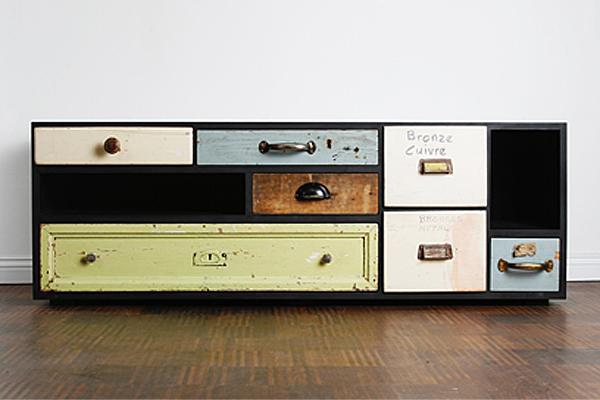 EPM -> Vintage Kommode Schubladen