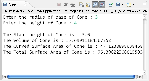 How To Calculate Volume Curved Surface Area And Total