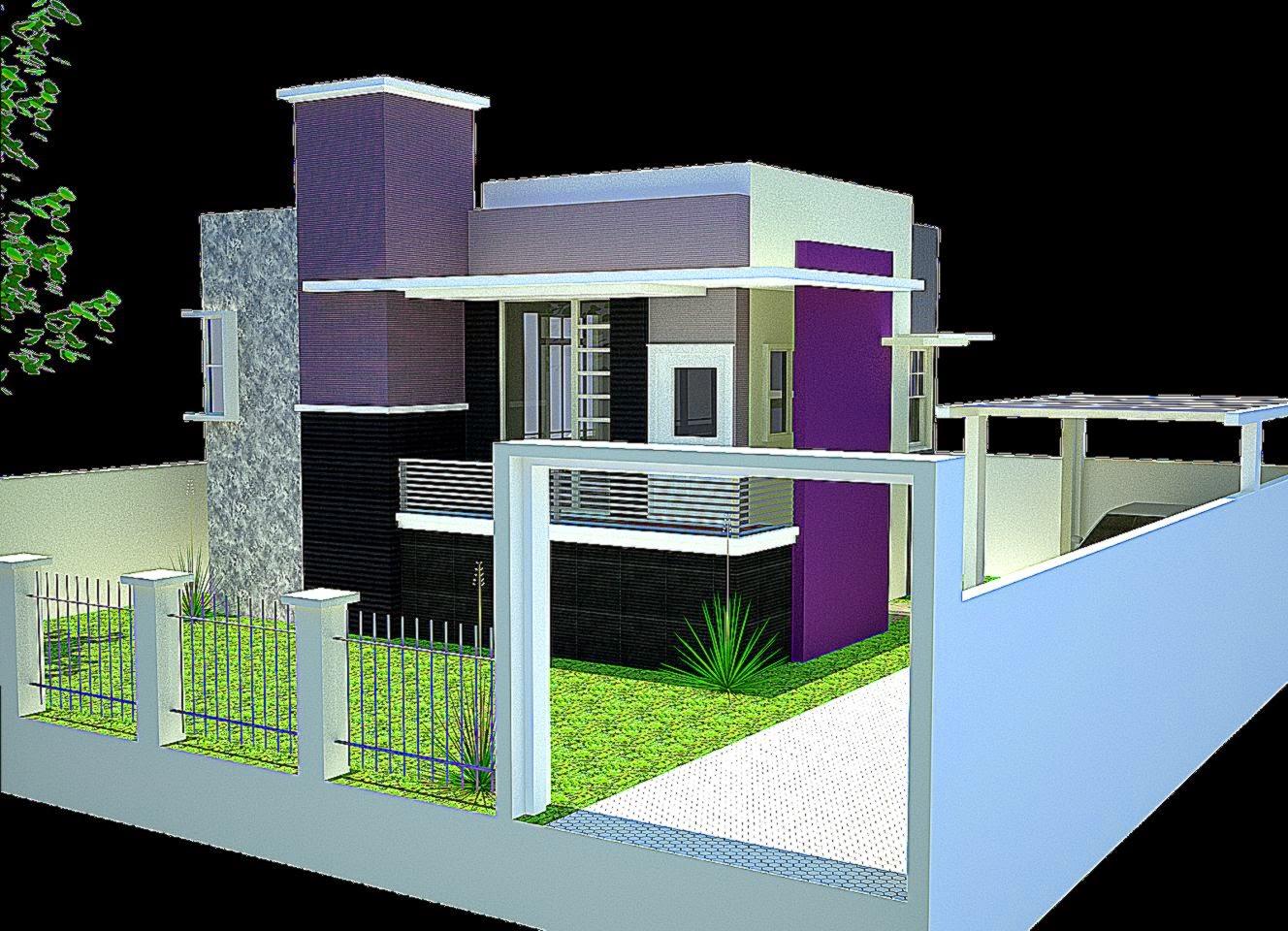 Gambar Warna Cat Rumah Minimalis Terbaru 2015  Lensarumah