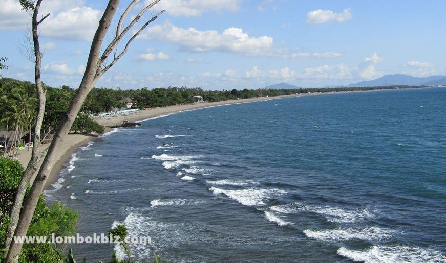 Gambar pemandangan pantai batulayar senggigi