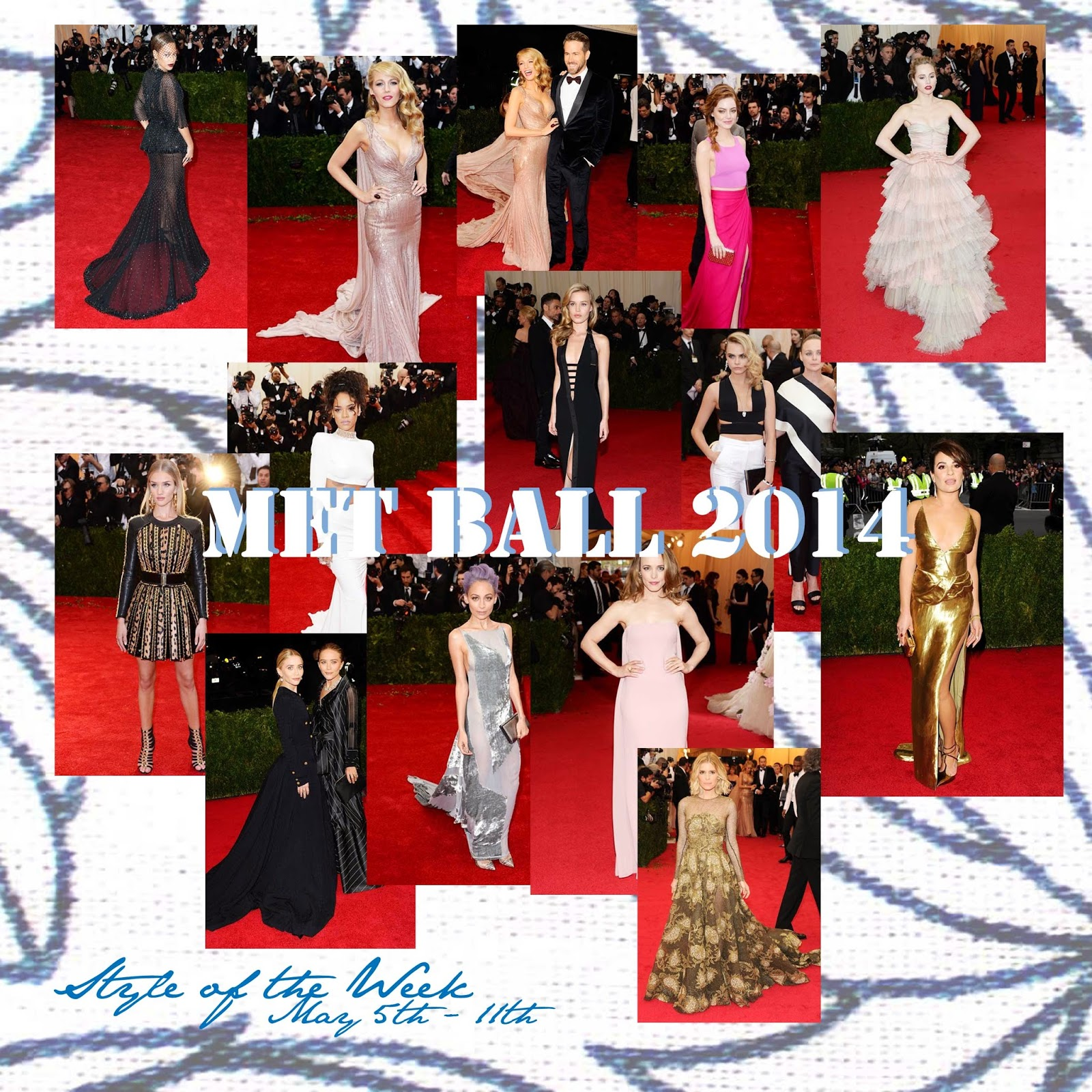 STYLE OF THE WEEK : MET GALA 2014